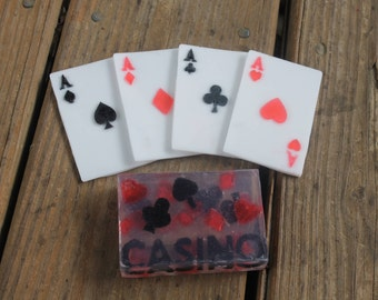 Casino Party Favors - Vegas Wedding Favors - Playing Card Favors - Gift For Him - Card Shark Gift - Gift for Him - Casino Birthday Favors