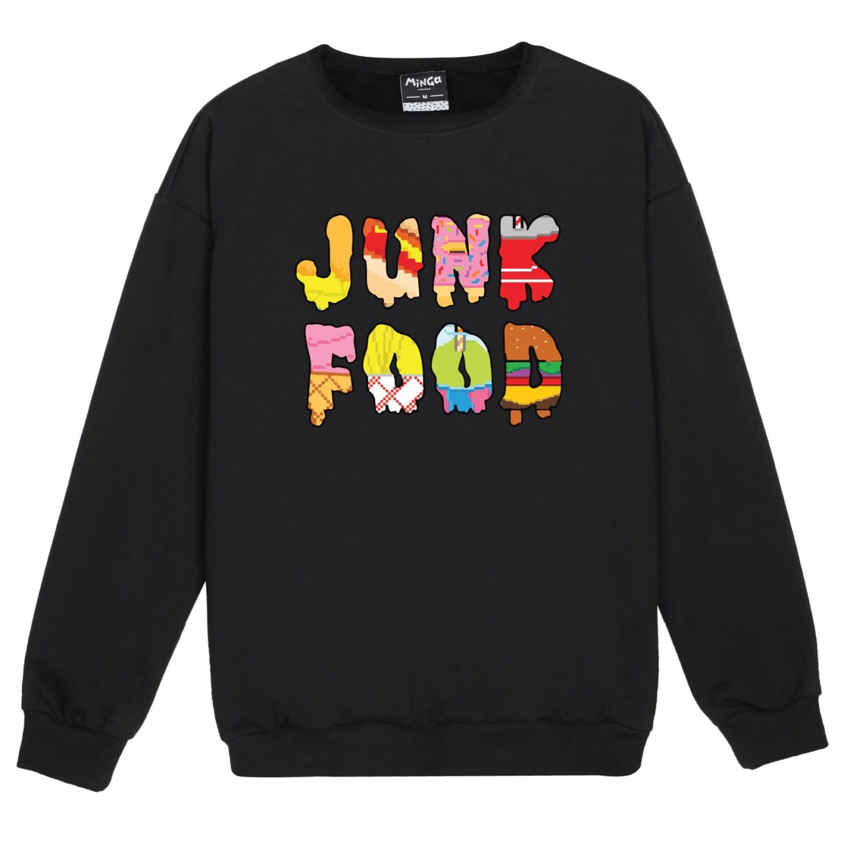 junk food pullover pullover damen damen spa tumblr hipster. Black Bedroom Furniture Sets. Home Design Ideas