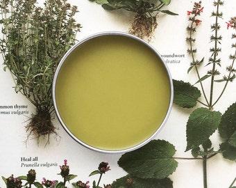 Green Goddess Herbal Salve - All Purpose - Cuts, Bites & Burns!  (FREE SHIPPING!)