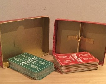 Vintage Sketchley Playing Cards