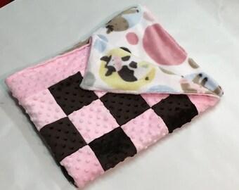Reversible Chenille Baby Blanket