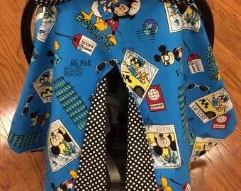 Mickey Selfie Car Seat Canopy