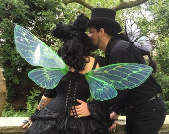 Grasshopper Inspired Wings - Made to Order