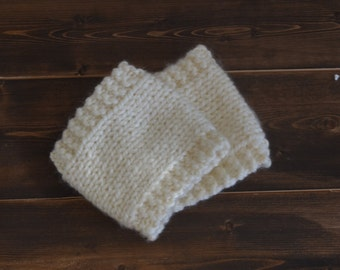 Hand Knit Boot Cuffs, Boot Cuffs, Knit Boot Toppers, Handmade Boot Cuffs, Boot Warmers, Choose Your Color