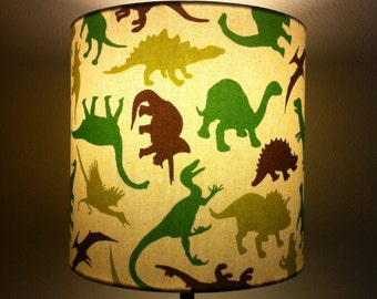 Dinosaur lampshade etsy lampshade dinosaur dreams mozeypictures Gallery