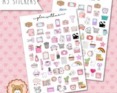 """Planners Stickers """"Plan With Me"""""""