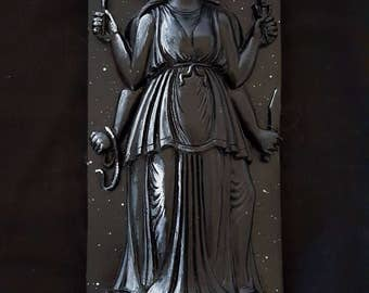 Goddess Hekate Plaque / Statue ( Hecate)