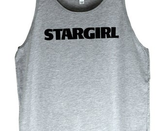 The Weeknd Clothing Stargirl Shirt - Stargirl Tank Top - Unisex Style in White or Heather Grey Tee