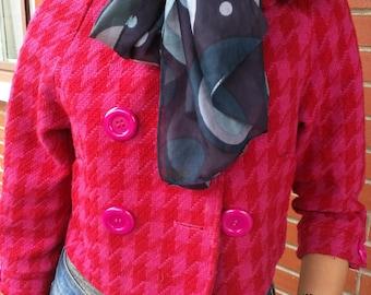 Silk scarf - vintage
