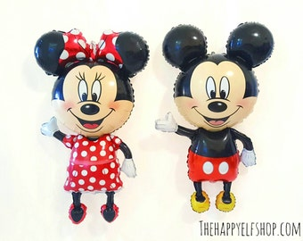 Mickey Air Walker balloon.  Mickey mouse balloons. Mickey party. Mini balloons. Mickey party favors. Kid's party. Minnie Mouse. Mickey.