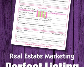 Real Estate Planner Agenda Calendar Real Estate Agent Goal
