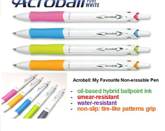 Pilot Acroball 0.7 Blue or Black Ink Pen