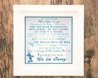 In This House We Do Disney,Disney Theme Print,Disney Quote Print,Disney Print,Disney Wall Art,Disney Cartoon Print,Disney Gift,Disney