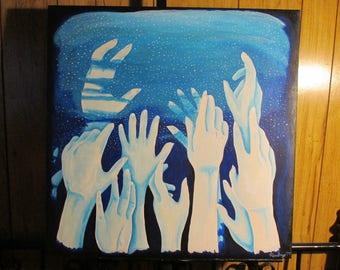 Sleep - 24inx24in Acrylic Painting