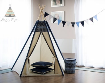 Indian teepee Aztek, indian tent, pure, tipi, wigwam, handmade, childrens play, kids teepee