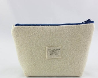 Bag made of felt, small felt pouch made of wool felt, kit bag made of pure wool felt, felt, stuff bag