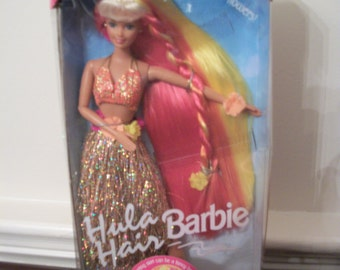 Hula Hair Barbie, 1996, Mattel