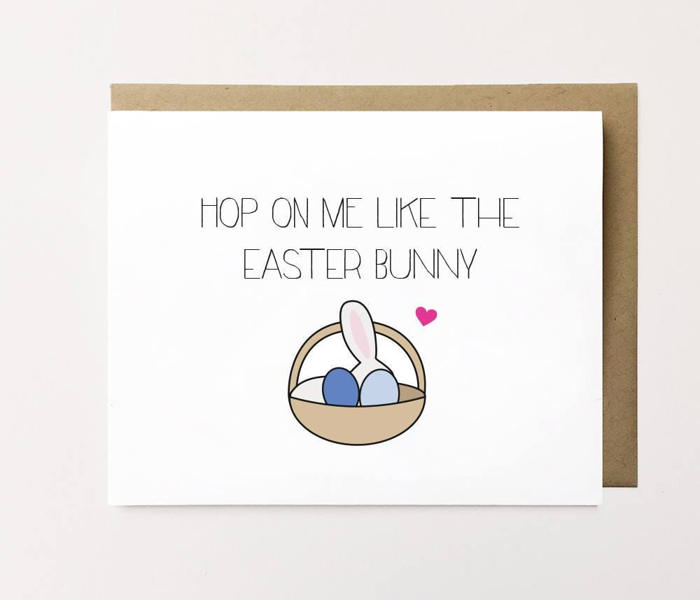 Naughty easter card – Easter Card