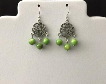Celtic Chandelier Earrings