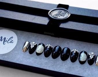 MOONLIGHT | Luxury Press On Nails