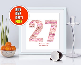 27th  anniversary, 27th anniversary gift, twenty seventh anniversary, 27th anniversary present