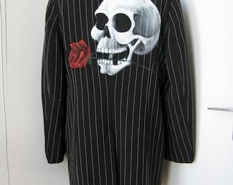 Skull and Rose jacket