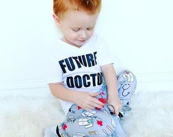 Doctor - Baby Leggings, Toddler Leggings