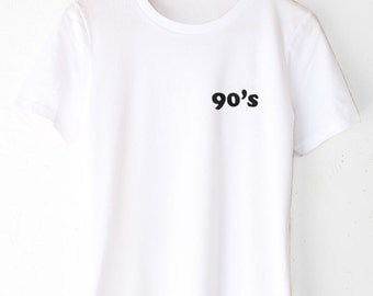 90's Embroidered Tee