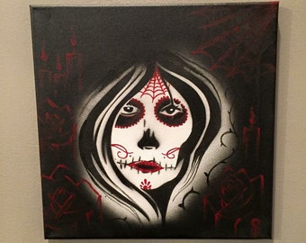 Death in Her Eyes Black