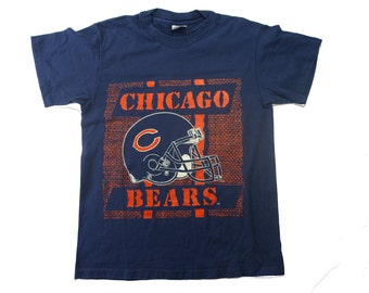 90s Chicago Bears Vintage Tee - Vintage NFL Chicago Bears Tshirt - M