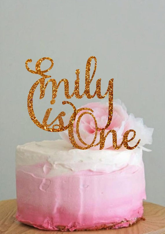 Design Your Own Birthday Cake Topper : Personalized Cake Topper Name Birthday Cake Topper Custom Cake