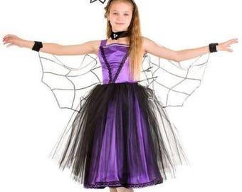girls bat costume glitz pageant dress halloween bat child bat costume kids carnival costume girl photo - Pageant Girl Halloween Costume