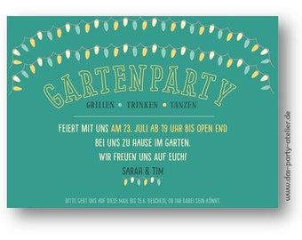 Garden PARTY (email template) invitation