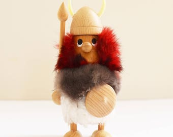 MCM Figurine - Hans Bolling Style - Viking - Danish Gonk - Dansk Collectable - 1960's Era