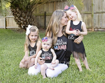 Fourth of July Shirt, 4th of July Outfit, july 4th matching, Mommy and Me shirts, Mommy and me outfits, Fourth of July Mommy and Me, America