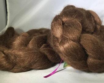 Black or Brown Alpaca / Silk 70/30