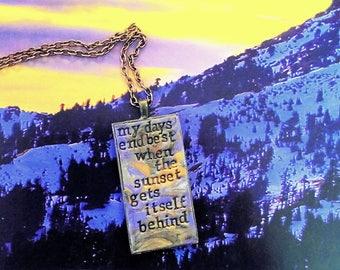 Arctic Monkeys Arabella Pendant Necklace