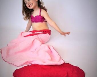 Mermaid tail towel // pink mermaid tail towel // Tail Towel // Mermaid towel // mermaid tail blanket