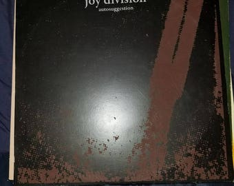 Joy Division Autosuggestion vinyl