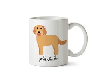Goldendoodle Mug (girl)