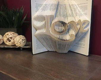 Love Folded Book