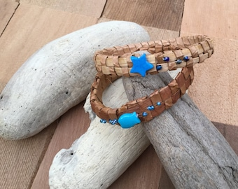 Cedar Bark Bracelet medium / Gift bracelet / Nature bracelet