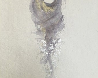 Guardian Series fig.27 number 8-- Fine Art Painting