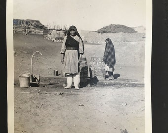 Original photographs of Native Americans, antique real photo album southwest Indians. Hopi, Pueblo, Laguna, Taos, Arizona, Sta Fe New Mexico