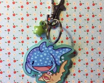 "Shark Friends - 2"" Keychain"