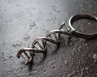 DNA Double Helix keyring
