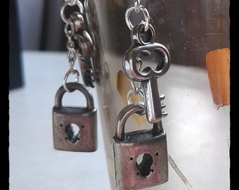 Locked Up Earrings