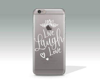 Live, Laugh, Love iPhone 7 Plus Case iPhone 7 Case iPhone 6 Case iPhone 6s Plus Case iPhone 6 Plus Valentine's Day Gift Birthday Gift //367