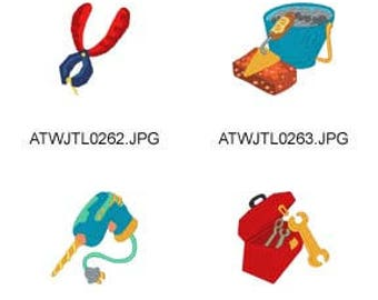 Boy-Tools ( 7 Machine Embroidery Designs from ATW ) XYZ17D