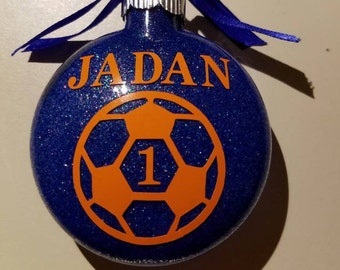Soccer Ball Decal - permanent vinyl - Great for coolers, Yeti & Rtic cups, lockers, car windows, ornaments,  etc. Decal only.